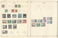 Cyprus Stamp Collection on 14 Scott International Pages, Plus Covers. JFZ