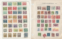 Czechoslovakia Stamp Collection on 40 Pages, Loaded With Stamps & Sheets JFZ
