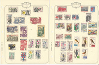 Czechoslovakia Stamp Collection on 22 Pages, Interesting Selection, JFZ