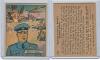 R164 Gum Inc, War Gum, 1941, #106 Raymond Collishaw Britain Aviator