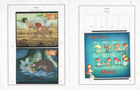 Gambia Stamp Collection on 15 Pages, 1999-2011 Mushrooms Disney, JFZ