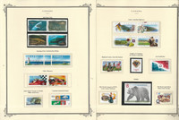 Canada Stamp Collection on 23 Scott Specialty Pages, 1997-99 Mint Sets, JFZ
