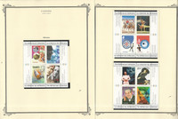 Canada Stamp Collection on 18 Scott Specialty Pages, 1999-2000 Mint Sets, JFZ