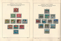 Germany Stamp Collection on 23 Schaubek Pages, 1963-1969 Mint NH, JFZ