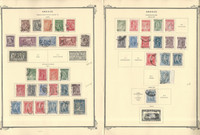 Greece Stamp Collection on 35 Scott Specialty Pages, 1906-1940, JFZ