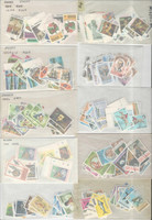 Grenada Stamp Collection, Unsorted Lot in Glassines, JFZ