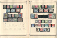 Greenland Stamp Collection on 8 Scott Specialty Pages, 1938-1981, JFZ
