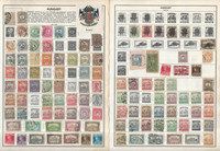 Hungary Stamp Collection on 100 Harris Pages, 1871-1989 Loaded, JFZ