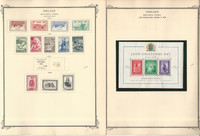 Iceland Stamp Collection on 13 Scott Specialty Pages, 1873-1972 BOB, JFZ