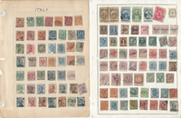 Italy Stamp Collection on 34 Packed Pages, 1880-1980, JFZ