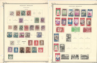 Spanish Morocco Stamp Collection on 5 Scott International Pages, 1903-50, JFZ