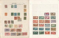 Syria Stamp Collection on 7 Pages, 1919-1950 French, JFZ