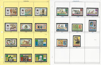 Tanzania Stamp Collection on 30 Scott International & Grid Pages, JFZ