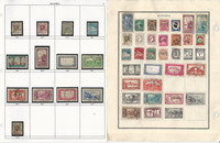 Algeria Stamp Collection on 20 Scott & Harris Pages, JFZ