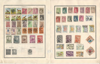 Angola Stamp Collection on 18 Scott & Harris Pages, Portugal Colony, JFZ