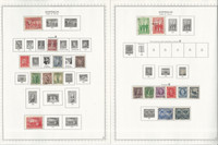 Australia Stamp Collection on 100 Minkus Specialty & Scott Pages, 1902-92, JFZ