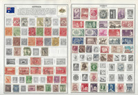 Australia Stamp Collection on 24 Harris & Scott Pages, 1913-1985, JFZ