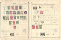 Thrace Stamp Collection on 4 Scott International Pages, 1919-1920, JFZ