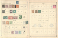 Timor Stamp Collection on 15 Scott International Pages, 1885-1973, JFZ