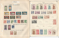 Togo Stamp Collection on 16 Scott & Harris Pages, French Colony, JFZ