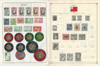 Tonga Stamp Collection on 40 Scott International Pages, 1886-1986, JFZ