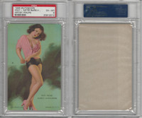 W424-2b Mutoscope, Artist Pin-Up Girls, 1945, Why- We're Barely, PSA 6 EXMT