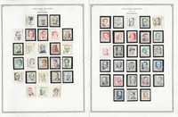 United States Stamp Collection 24 Scott Pages, Mint NH, 1976-1982, JFZ