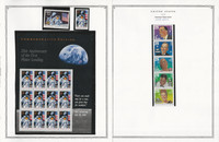 United States Stamp Collection 24 Scott Pages, Mint NH, 1993-1995, JFZ
