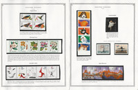 United States Stamp Collection 24 Scott Pages, Mint NH, 1997-1998, JFZ