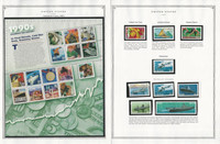 United States Stamp Collection 24 Scott Pages, Mint NH, 1998-2000, JFZ