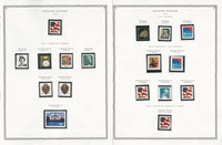 United States Stamp Collection 24 Scott Pages, Mint NH, 2003-2004, JFZ
