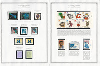 United States Stamp Collection 24 Scott Pages, Mint NH, 2005-2006, JFZ