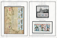 United States Stamp Collection 20 Scott Pages, Mint NH, 2006-2007, JFZ
