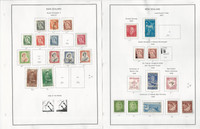 New Zealand Stamp Collection on 26 Steiner Pages, 1953-1979, JFZ
