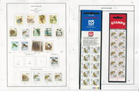 New Zealand Stamp Collection on 24 Steiner Pages, 1979-1992, JFZ