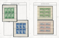 New Zealand Stamp Collection on 21 Steiner Pages,  Semi Postals, JFZ