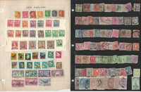 New Zealand Stamp Collection on 13 Loaded Pages, Nice Lot, JFZ