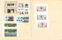 Liberia Stamp Collection, 1971-72 Mint NH, Animals, Olympics, JFZ