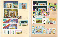 Liberia Stamp Collection, 1973-74 Mint NH, Dogs, Butterfly, Space, JFZ