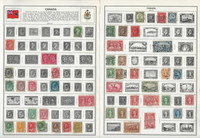 Canada Stamp Collection on 20 Harris Pages, 1859-1982, JFZ