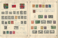 Canada Stamp Collection on 24 Scott International & Other Pages, JFZ