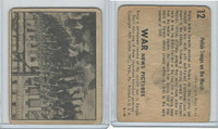 R165 Gum Inc, War News Pictures, 1939, #12 Polish Troops On The March