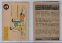 FC26-3 Nabisco, Sports Cards Ted Reeves Says, 1953, #5 Artifical Respiration