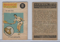 FC26-3 Nabisco, Sports Cards Ted Reeves Says, 1953, #11 Tennis