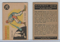 FC26-3 Nabisco, Sports Cards Ted Reeves Says, 1953, #26 Baseball
