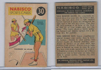 FC26-3 Nabisco, Sports Cards Ted Reeves Says, 1953, #30 Baseball
