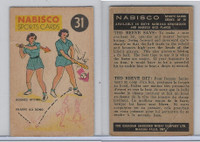 FC26-3 Nabisco, Sports Cards Ted Reeves Says, 1953, #31 Baseball