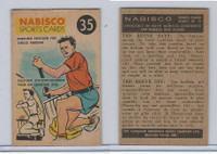 FC26-3 Nabisco, Sports Cards Ted Reeves Says, 1953, #35 Canoeing
