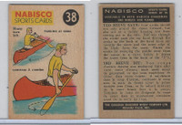FC26-3 Nabisco, Sports Cards Ted Reeves Says, 1953, #38 Canoeing