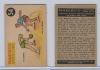 FC26-3 Nabisco, Sports Cards Ted Reeves Says, 1953, #53 Basketball